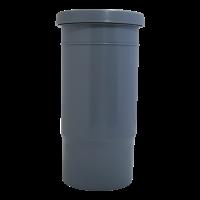 Компенсационный патрубок D110 мм канализационный ПП (полипропилен, серый цвет)