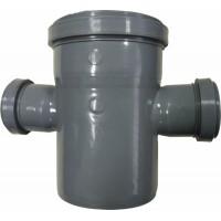 Крестовина канализационная одноплоскостная 110x50x50*87,5° мм
