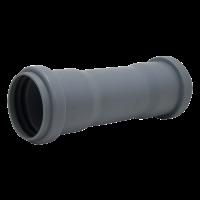 Муфты канализационные 2-х раструбные (внутри ограничитель)