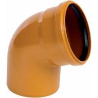 Отвод канализационный ПВХ 160*45°