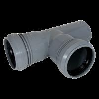 Тройник канализационный 40x40*87,5° мм