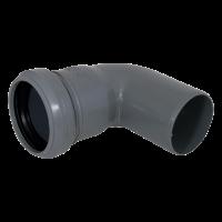 Отвод канализационный 40*87,5° мм
