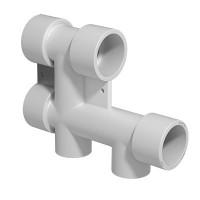 Блок распределительный PPR 25-20 мм