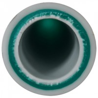 Труба армированная 40x6,7 мм (слой стекловолокна, без зачистки)