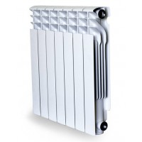 Радиатор AL 500/100 мм x 4 секций Radena (бок. подкл.)