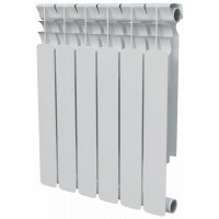 Радиатор AL 350 мм x 8 секций Evolution (бок. подкл.)
