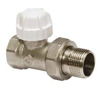 """Клапан 1/2"""" прямой радиаторный Altstream c ручной регулировкой"""
